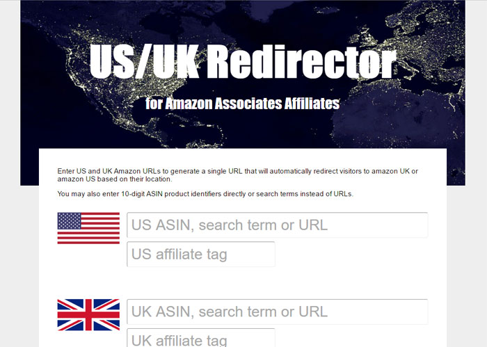 US/UK Redirector